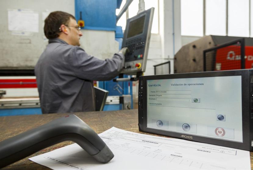 Lantek MES Wos to control production in the workshop and increase efficiency
