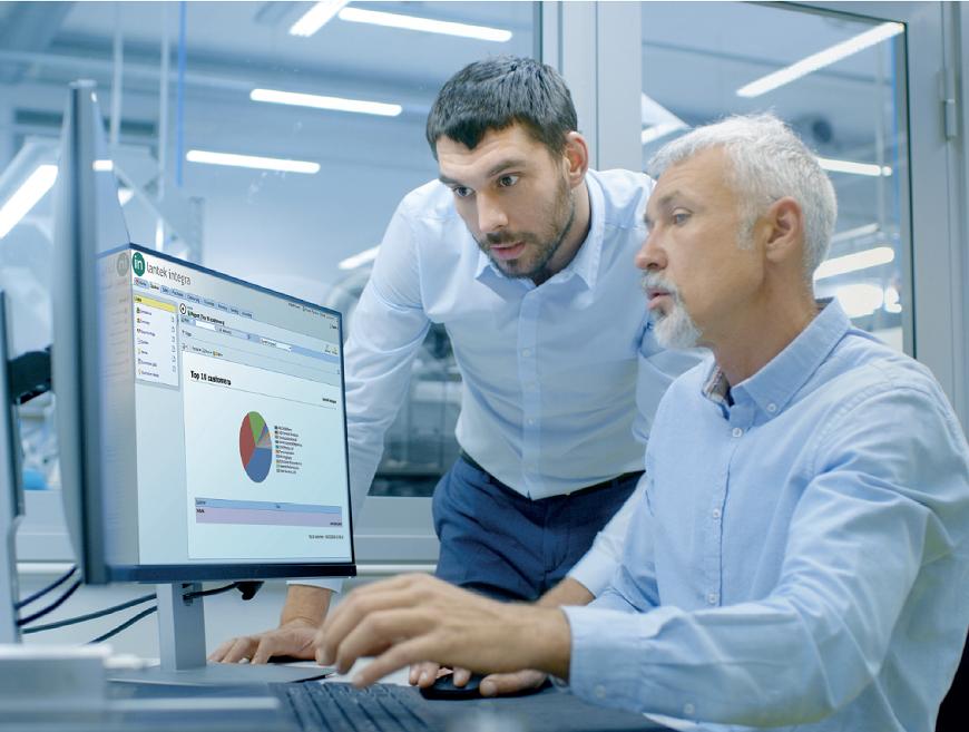 Lantek solutions for integrating a corporate ERP
